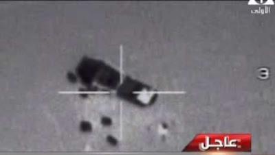 بالفيديو عاجل | اول صور حية يعرضها الجيش المصرى للصفعات التى يطلقها على الارهابيين بالطيران وبالاسلحة الثقيلة وشاهد سيارات الارهابيين تتطاير