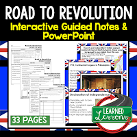 ➤American History Guided Notes ➤American History Interactive Notebook ➤American History Note Taking ➤American History PowerPoints ➤American History Anticipatory Guides