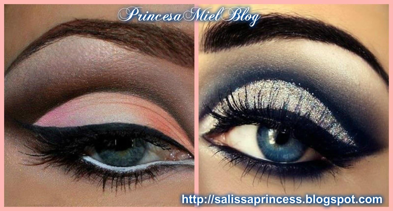 Princesa Miel Blog: Diferentes Técnicas de Maquillaje para Ojos