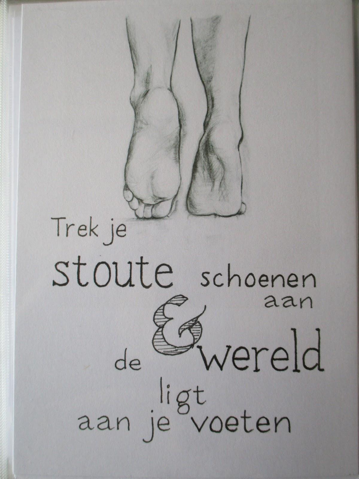 voeten spreuken Kolder op zolder: Handletteren met gevoel voeten spreuken
