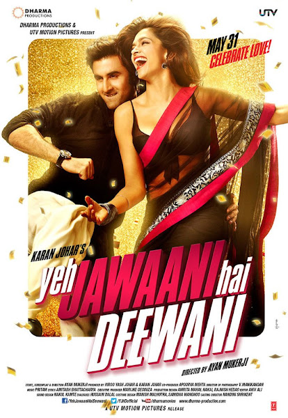 Poster of Yeh Jawaani Hai Deewani 2013 720p Hindi BRRip Full Movie Download