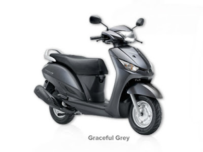 Yamaha Alpha Scooter Graceful grey Hd image