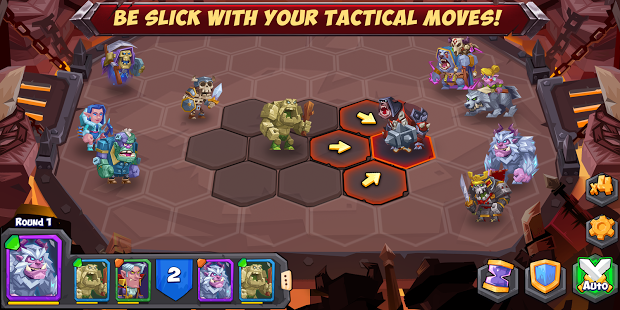 Download Tactical Monsters Mod Apk Increase Damage v0.5.3 Terbaru