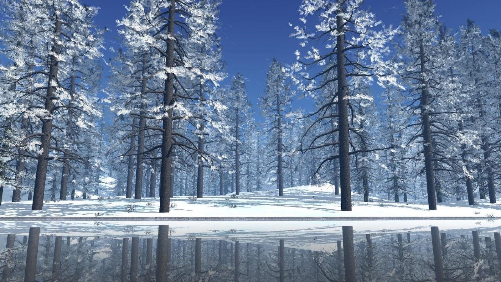 36 Pubg Wallpapers: 57 Christmas Winter Scenes Wallpaper