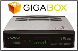 gigabox iplus - GIGABOX IPLUS NOVA ATUALIZAÇÃO MODIFICADA - 13/07/2017