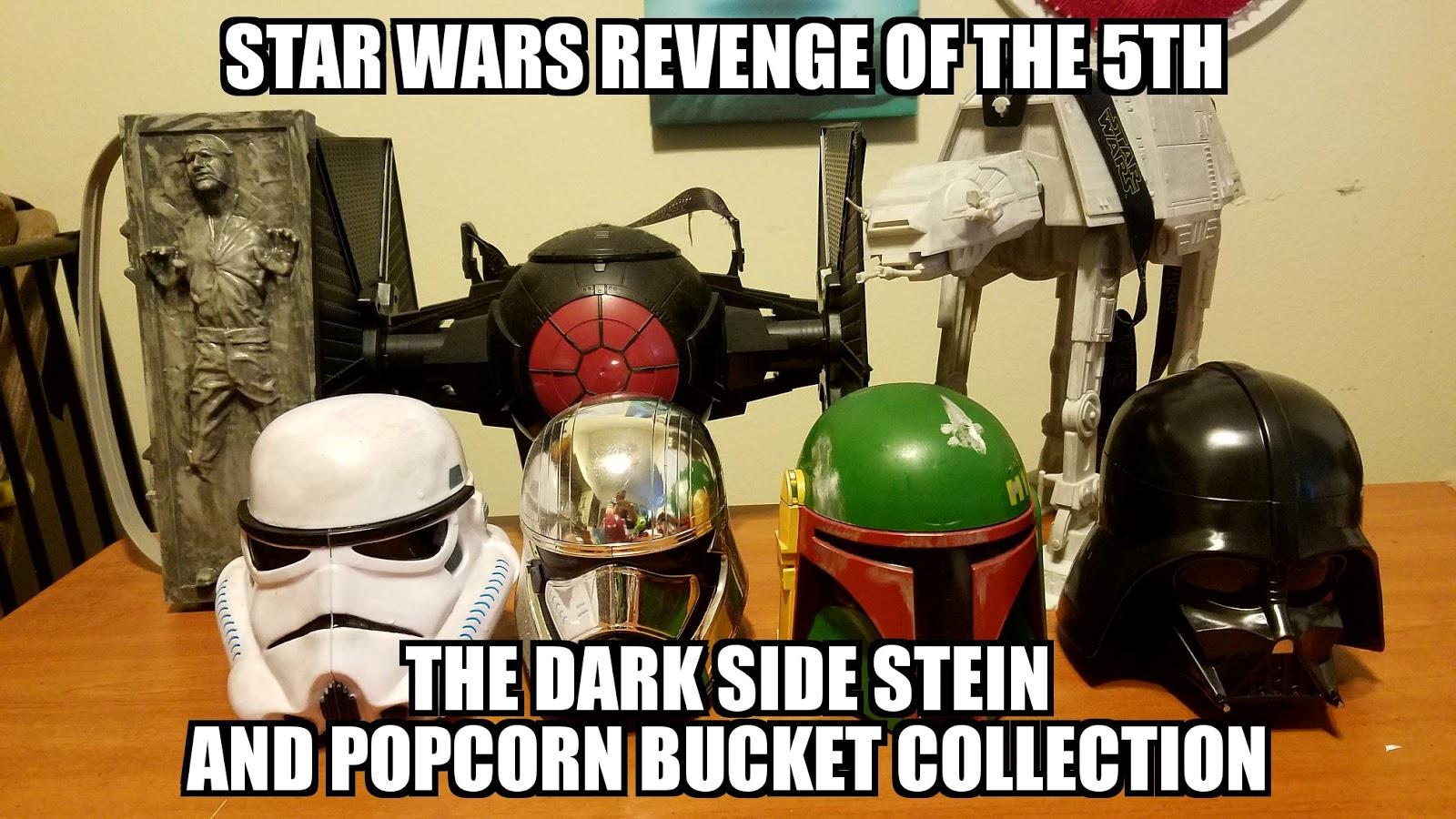 Disney Parks Star Wars JANGO FETT /& DARTH VADER Sipper Helmet Stein Cup Mug