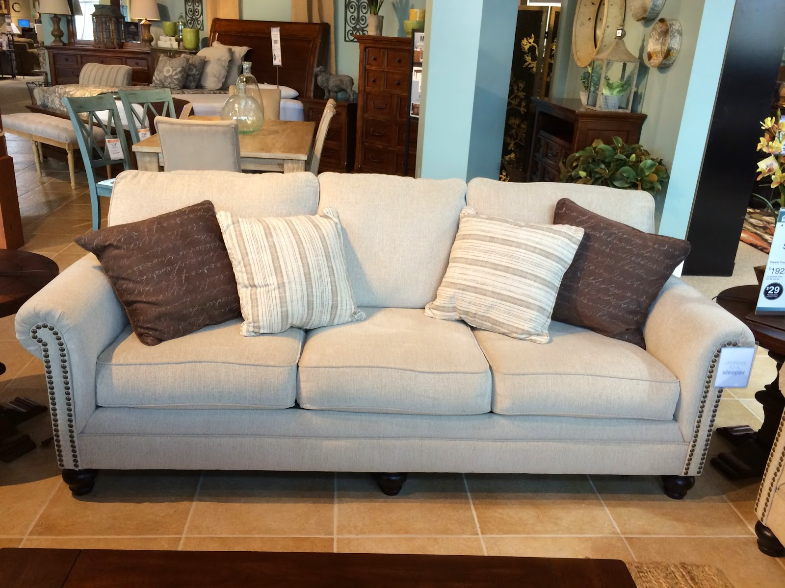... Reviews 1025theparty Com Milari Sofa In Linen. Ashley Furniture Living  Room Sets At Home And Interior Design Ideas