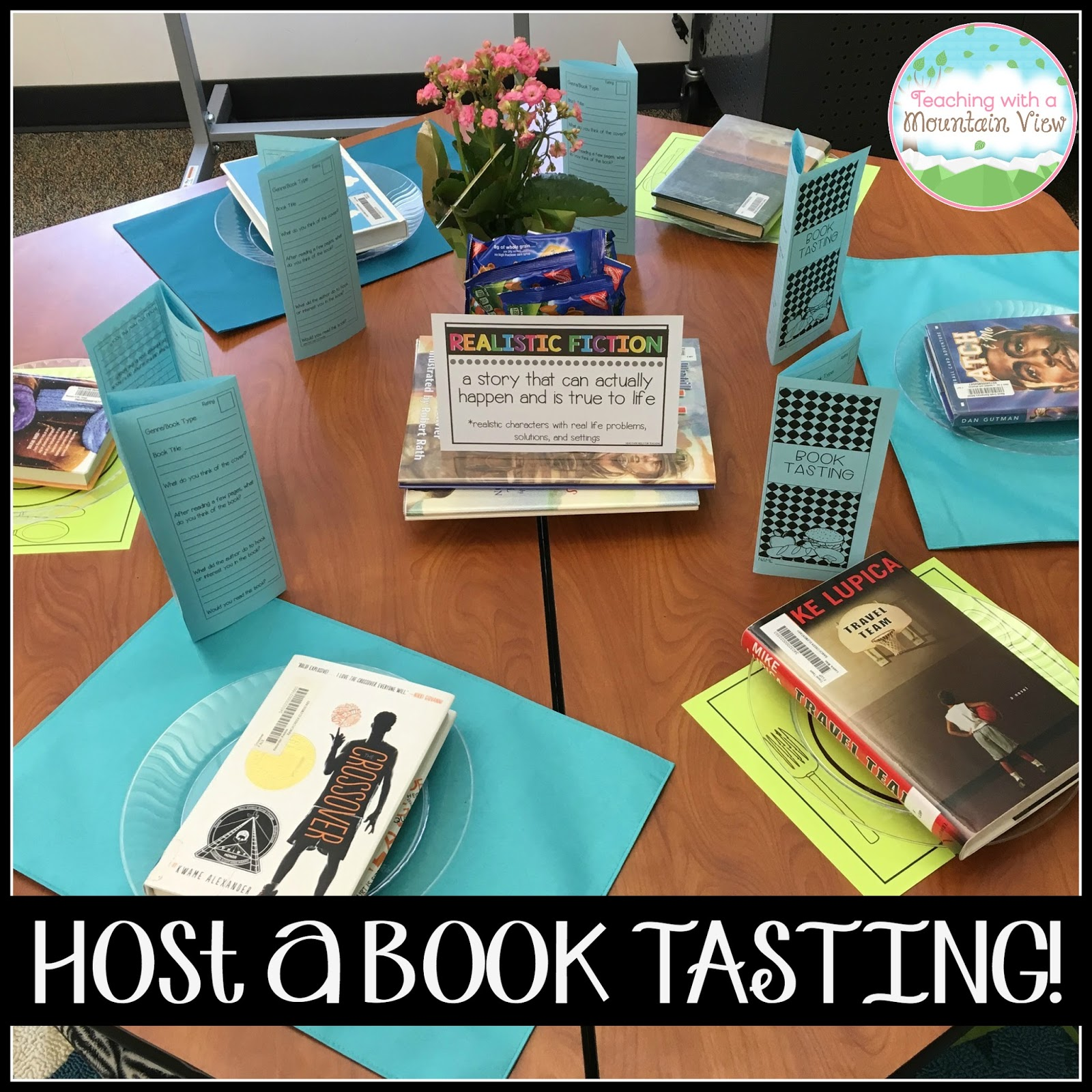Teaching With A Mountain View Host A Classroom Book Tasting