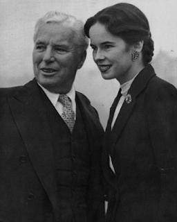 Charles Chaplin & Oona O'Neill