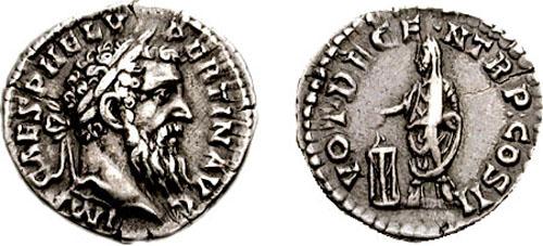 denario de Pértinax