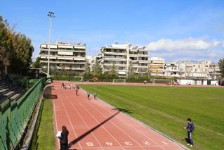 Holargos, Mark Marceau Stadion