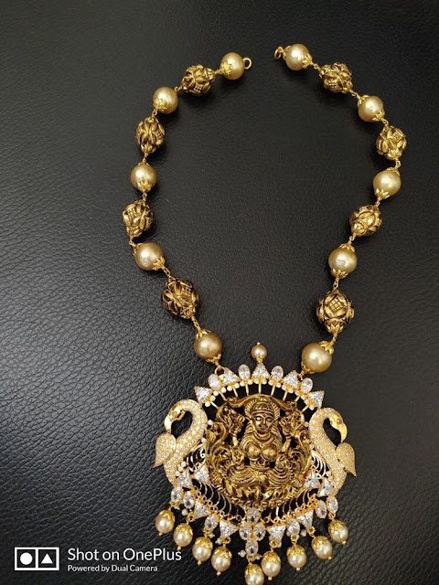 Nakshi Balls Set with Lakshmi Locket
