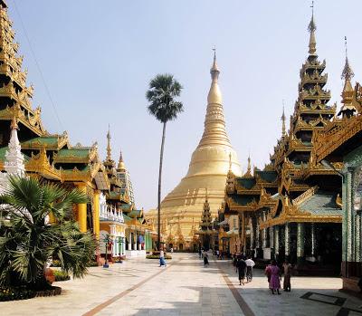 Shwedagon Platform