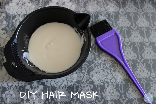 picture of hair mask recipe