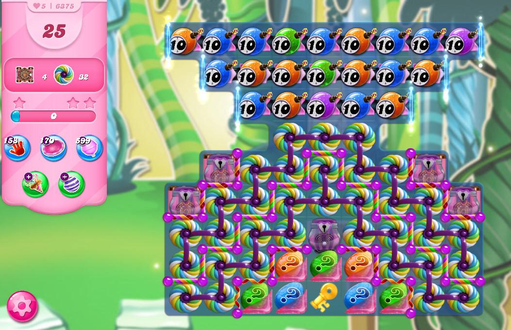 Candy Crush Saga level 6375