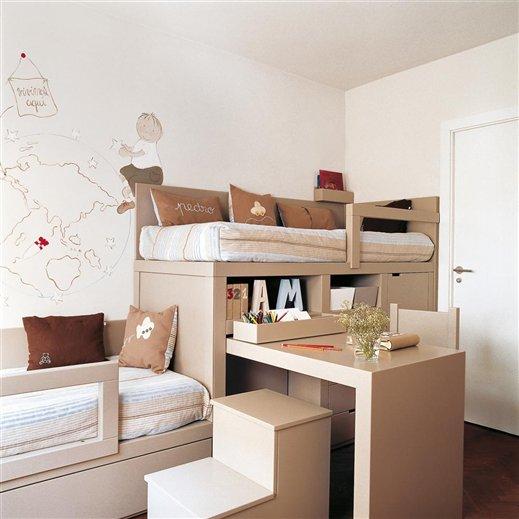 Casa tr s chic quartos para irm os Cosas de decoracion para casa baratas