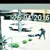 [VÍDEO]Bandido tenta efetuar saidinha bancária e é morto por policial que passava no local