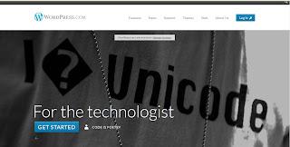Wordpress dot com