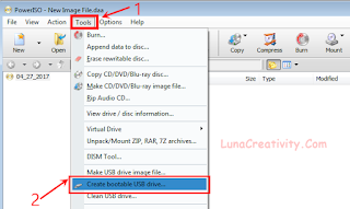 How To Make Bootable Pendrive In PowerIso