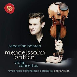 Britten & Mendelssohn - Sebastian Bohren - RCA Red Seal