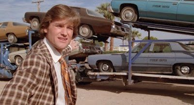Used Cars 1980 movie still Robert Zemeckis Kurt Russell Rudy Russo