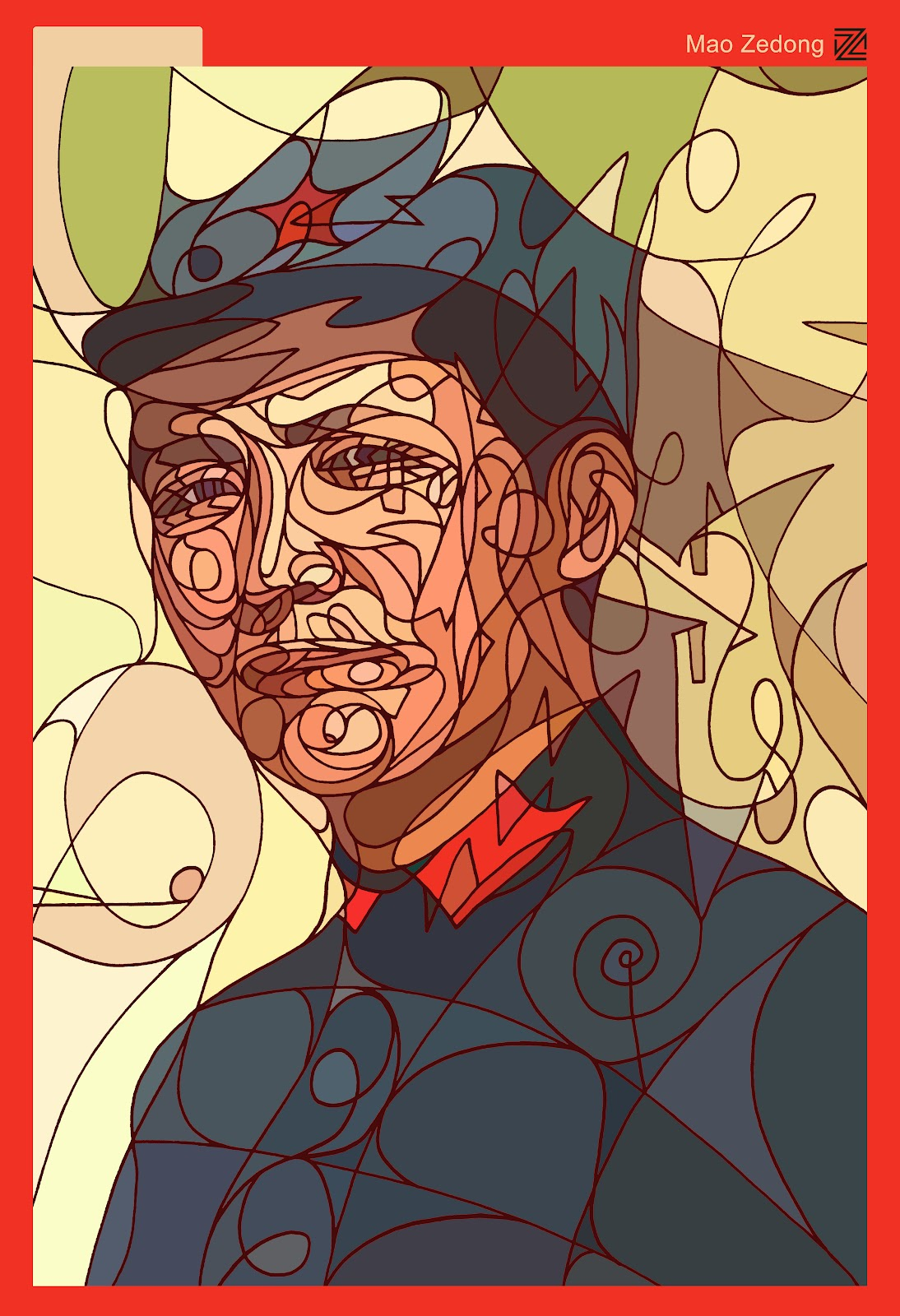 *撩亂草寫勾勒出熟悉KAWS的Pinocchio面孔:Dozow Chen 4