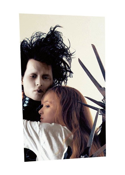 edward scissorshands, johnny depp, winona rayder, couples