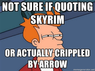 Funny image Skyrim and Futurama