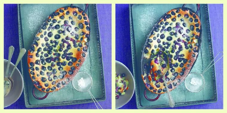 Blueberry Clafoutis: How To Make