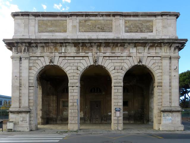 Barriera Margherita (Margherita Gate), Viale Italia, Livorno
