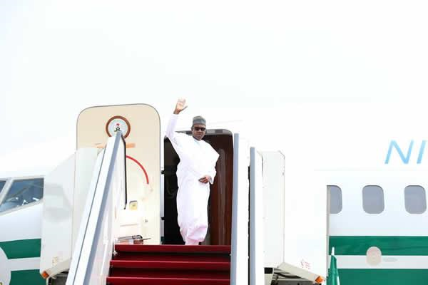 a Buhari to leave for London on Tuesday May 10th