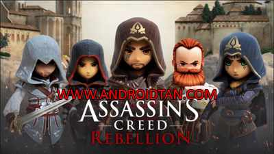 Assassin's Creed Rebellion Mod Apk + Data v1.0.2 Android Terbaru 2017
