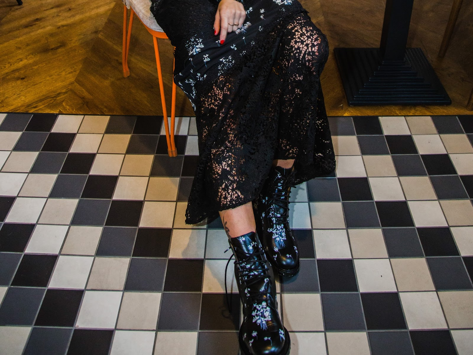 erdem x hm collaboration collection lace maxi dress boots