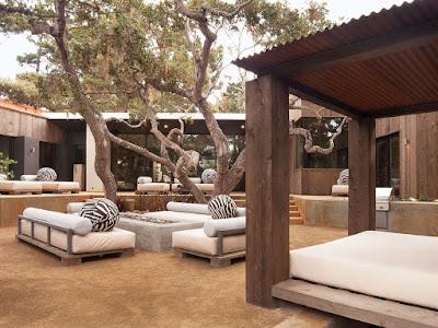 ห้องนั่งเล่นแบบ outdoor