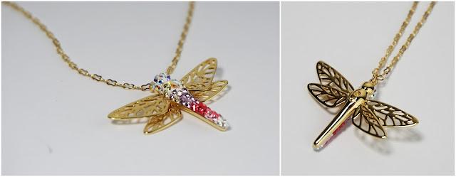 Swarovski Sale Haul Tilly Small Anhänger - Libellen-Anhänger gold