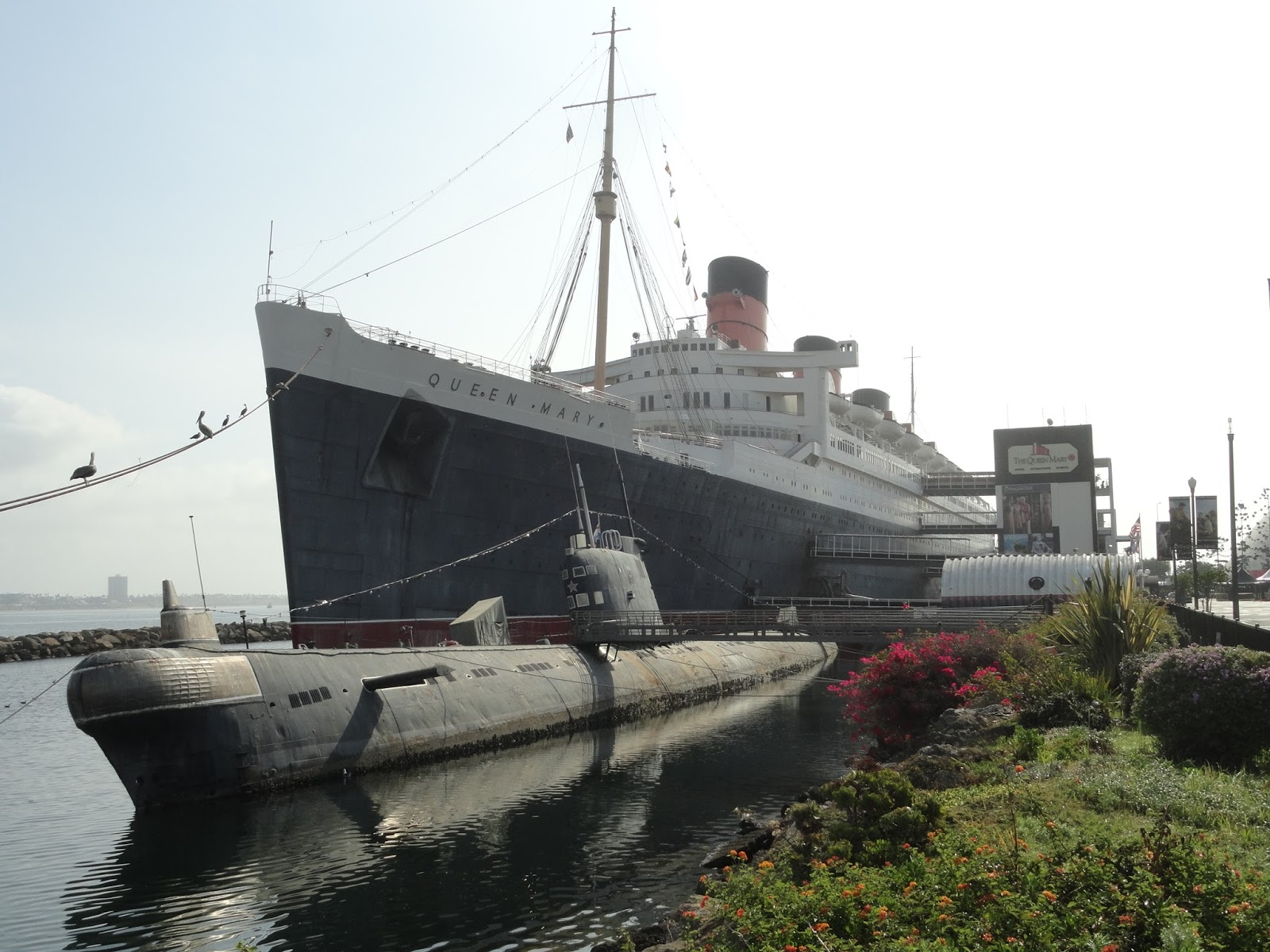 Dave S Travel Adventures Queen Mary And Battleship Iowa Long Beach Ca September 2017
