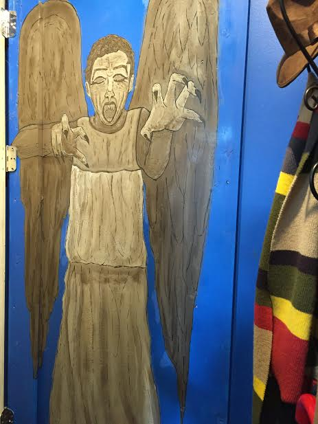 Weeping Angel inside of Tardis