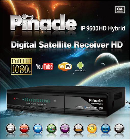 طريقة تحديث جهاز PINACLE IP9600 HYBRID,طريقة تحديث جهاز, PINACLE IP9600 HYBRID,