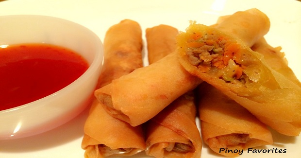 Lumpia (Filipino Egg Roll) Recipe