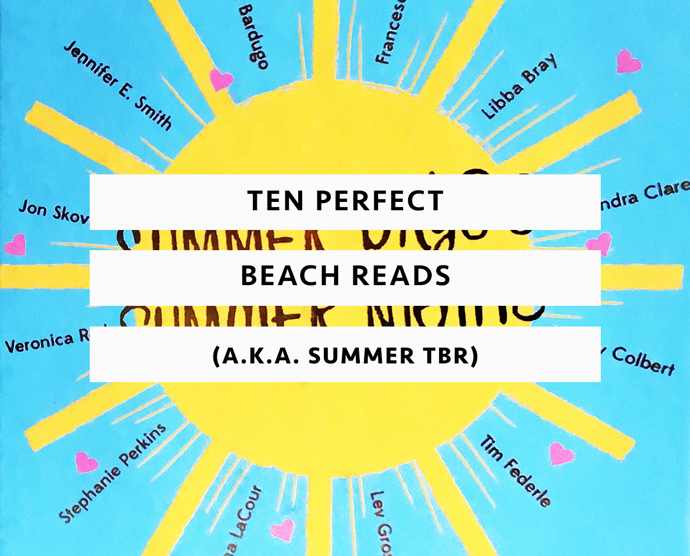 Top Ten Tuesday Beach Reads