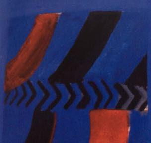 Pauline Boty, Gershwin, 1961, detail