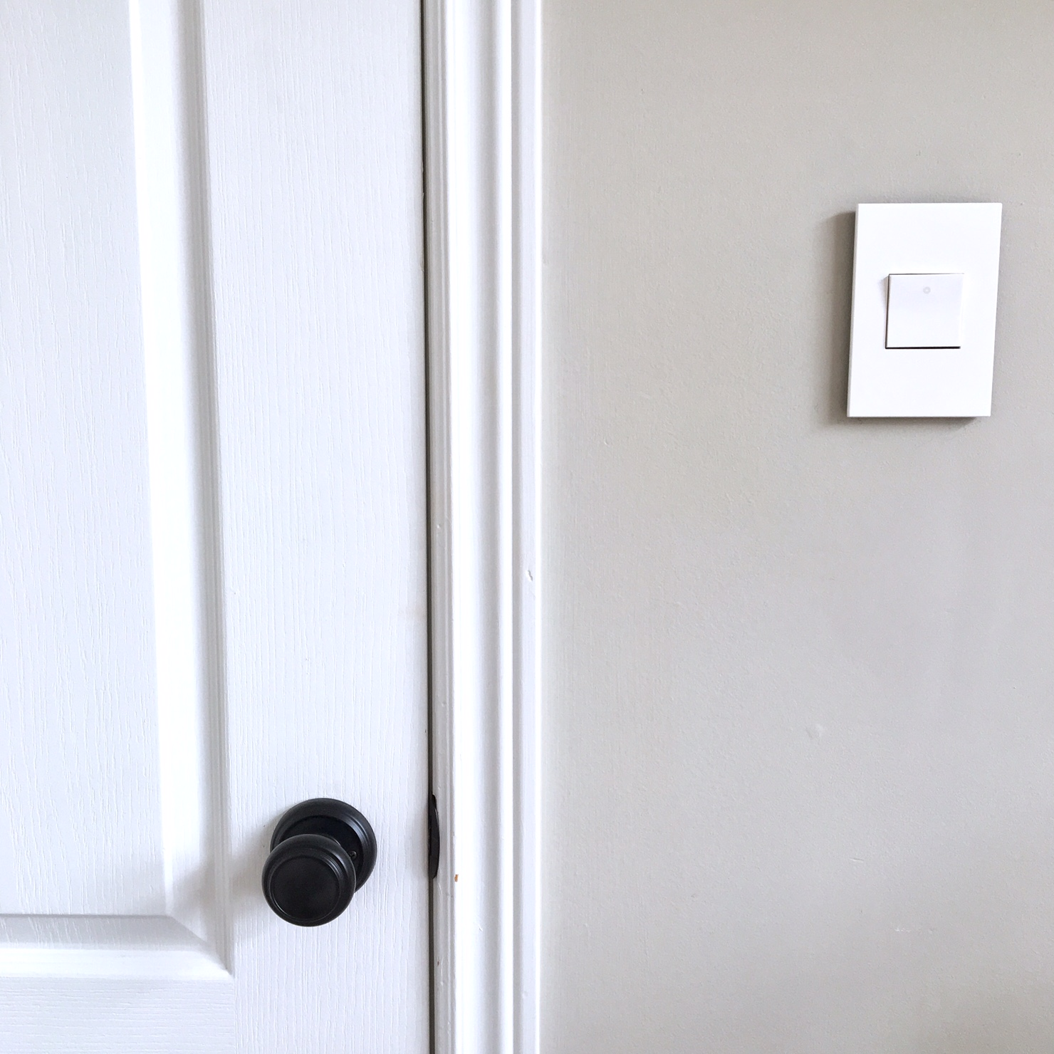 Modern Light Switches and Plate Covers