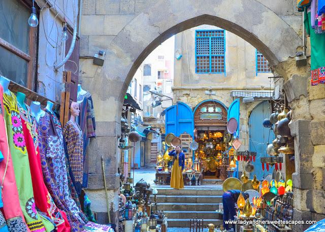 Lady in Khan El Khalili Cairo