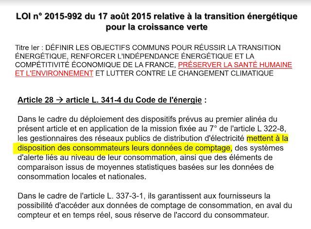 Transcription de la directive dans la loi Française