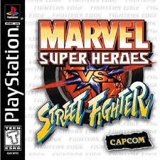 Marvel Super Heroes VS Street Fighter - PS1 - ISOs Download