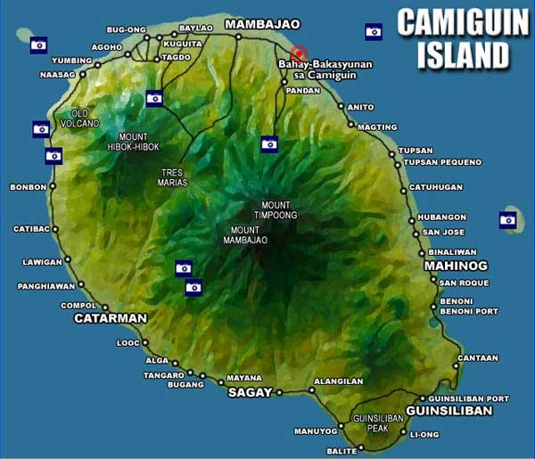 Camiguin Island: Island Of Camiguin: Places To Visit