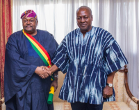 Mike Adenuga bags Ghana's highest award