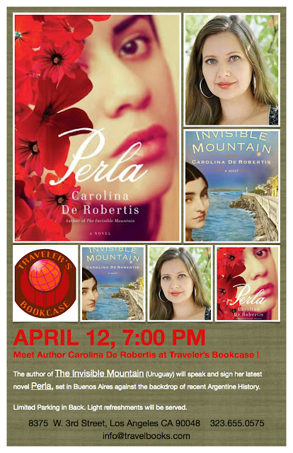 Meet Author; Carolina De Robertis, at Traveler's Bookcase