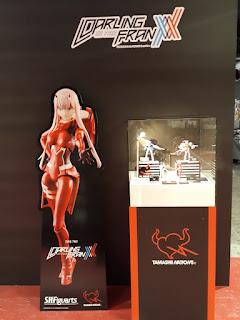 Exposición de Tamashii Nations del XXIV Salón del Manga de Barcelona