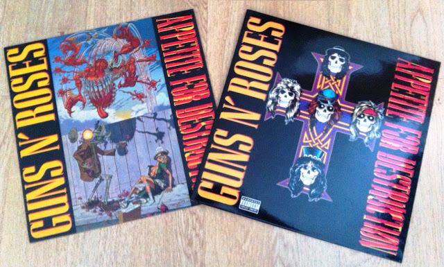 Guns N' Roses - Appetite for Destruction (1987) Portada